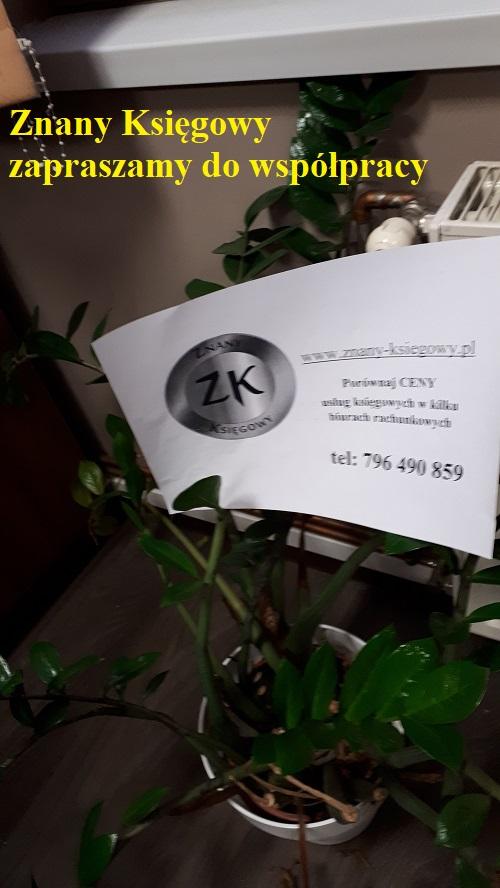 Znany Ksiegowy - biuro księgowe cennik